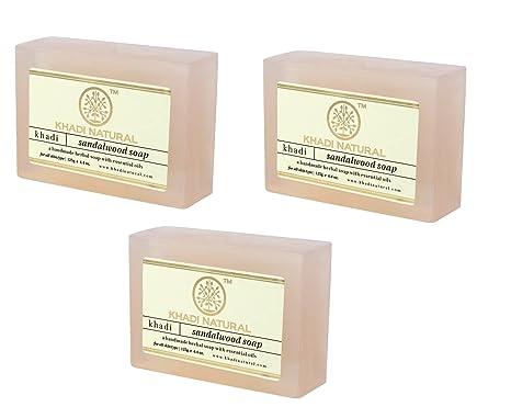 125g Each pack Of 1 Khadi Natural Sandalwood Soap