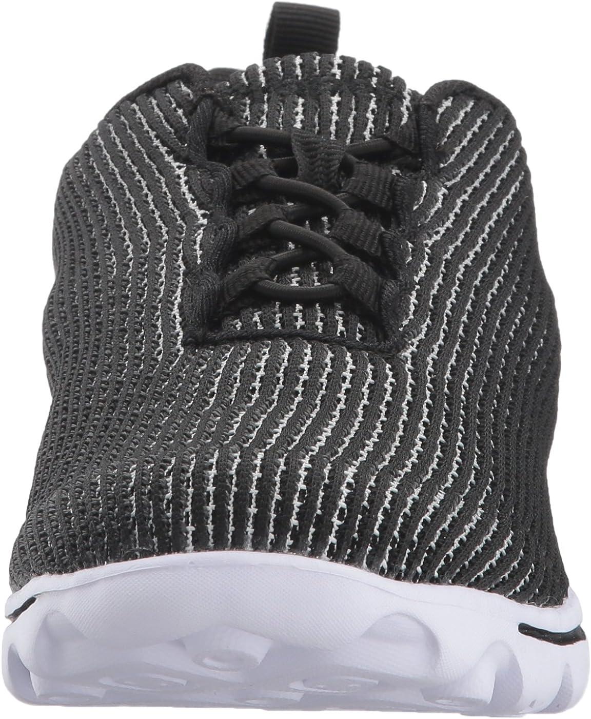 Propét Women's TravelActiv Xpress Sneaker Black/White