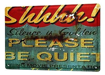 Sonstige Blechschild Hollywood Vintage-Deko