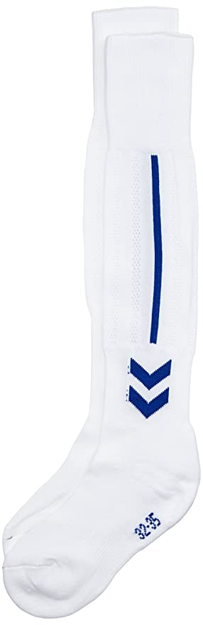 Hummel Socken Classic Football Socks - Calcetines para niño, color blanco/azul, talla