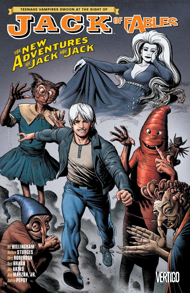 Jack Fables Vol New Adventures product image