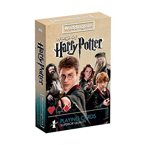 Waddingtons - Juegos de Cartas Harry Potter (Winning Moves 13779)