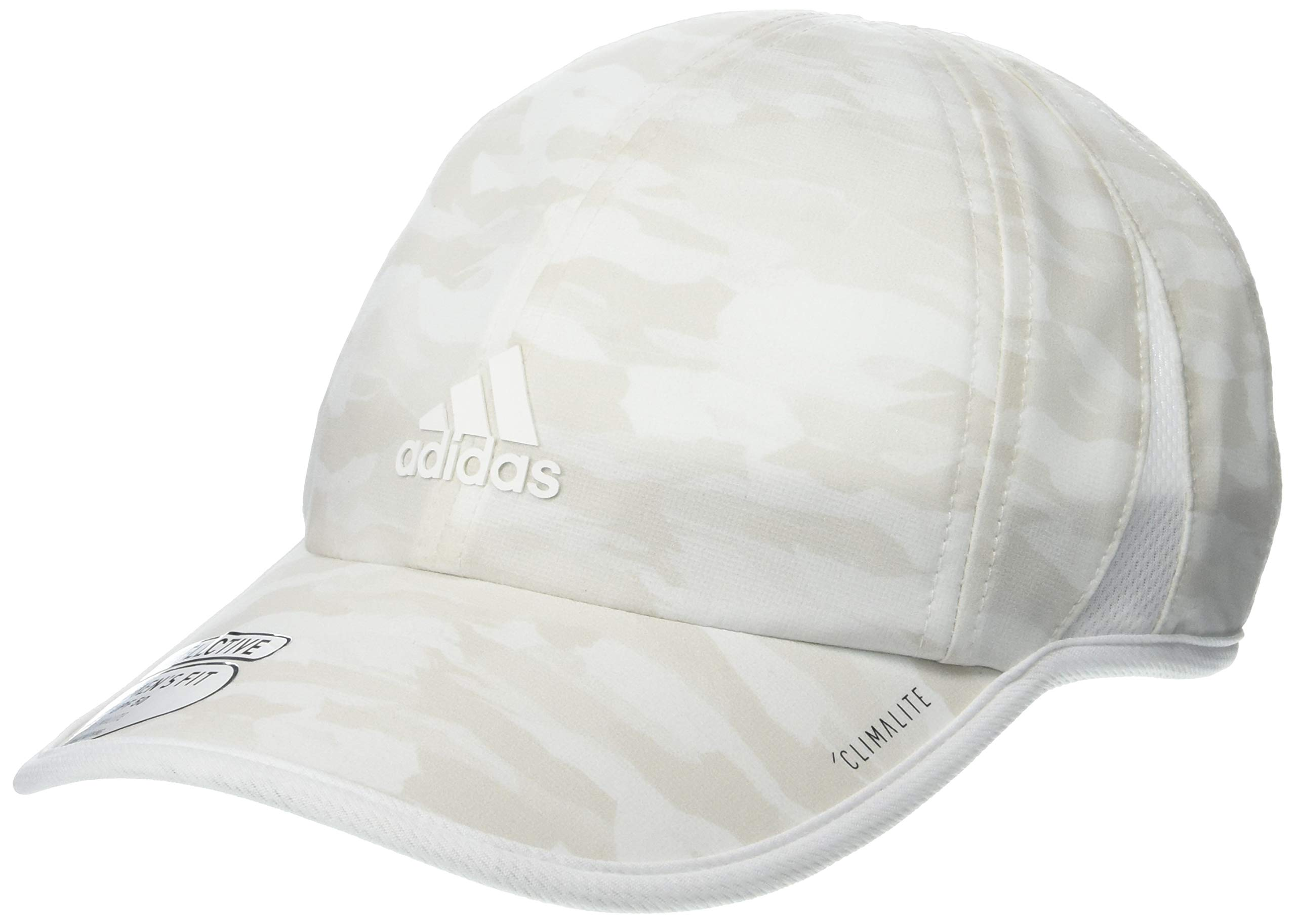 adidas Women's Superlite Pro Relaxed Adjustable Cap, Running Camo Grey One, One Size