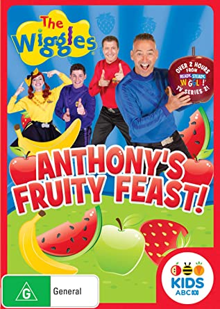 Amazon com: The Wiggles - Anthony's Fruity Feast DVD (Region 4 Pal