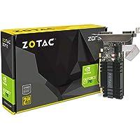 Zotac GeForce GT 710 Zone Grafikkarte (NVIDIA GT 710, 2GB DDR3, 64bit, Base-Takt 954 MHz, 1,6 GHz, DVI-D, HDMI, VGA, passiv gekühlt)