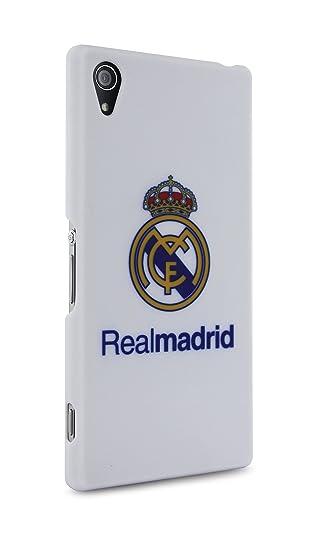 Sony Real Madrid - Carcasa para Sony Xperia Z2, blanco