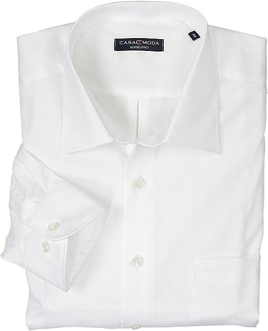 Blaues Business Hemd von Casamoda in Übergröße