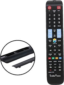 loutoc TV Smart Control para Samsung Smart TV Mando a Distancia de ...