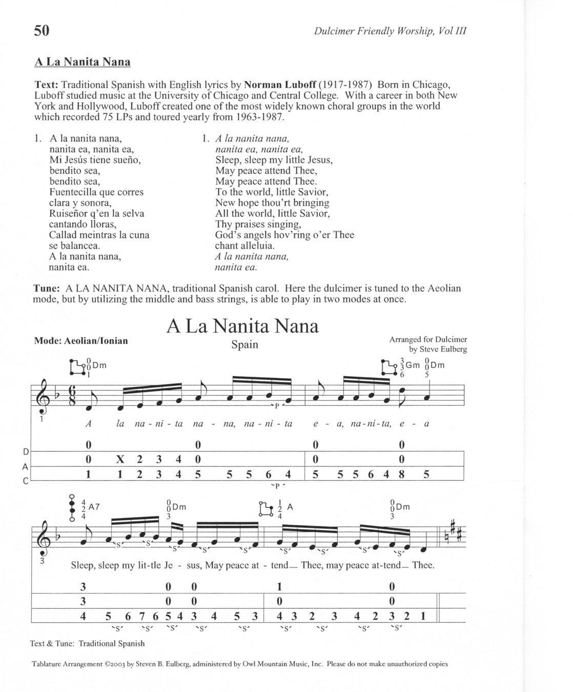 Amazon Steve Eulberg Dulcimer Friendly Worship Vol 3