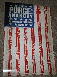 Super Posters The Purge Anarchy 11x17 INCH Promo Movie Poster