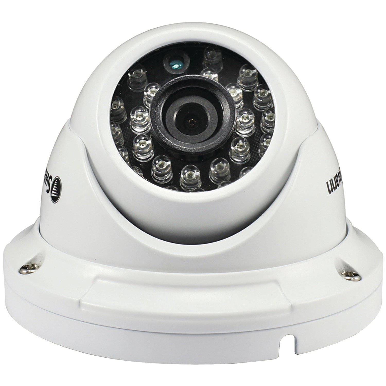 Swann 1080P Hybrid AHD and TVI Capable Dome Camera, White (SWPRO-H856CAM-US)