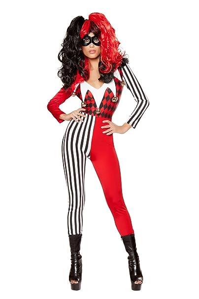 Amazon.com: Mischievous Jester Costume, Sexy Jester Costume ...