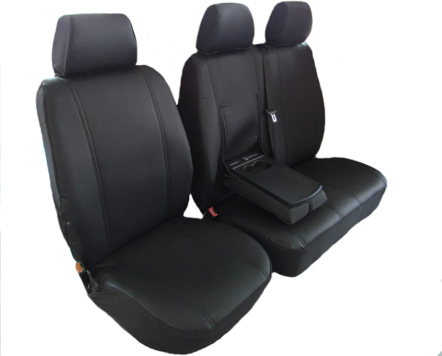 06 on CITROEN Relay GREY HEAVY DUTY VAN SEAT COVERS SINGLE DRIVERS AND DOUBLE PASSENGERS SEAT COVERS SET