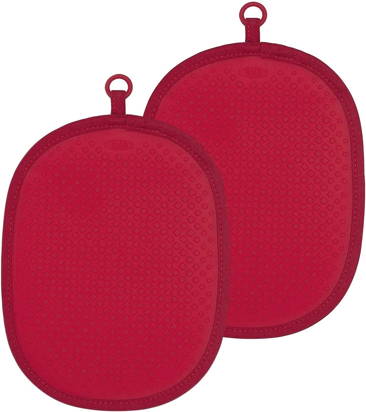 OXO Good Grips Silicone Pot Holder, Red (2 Pack)