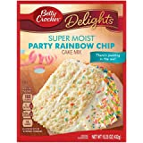 Betty Crocker Super Moist Party Rainbow Chip Cake Mix, 432g