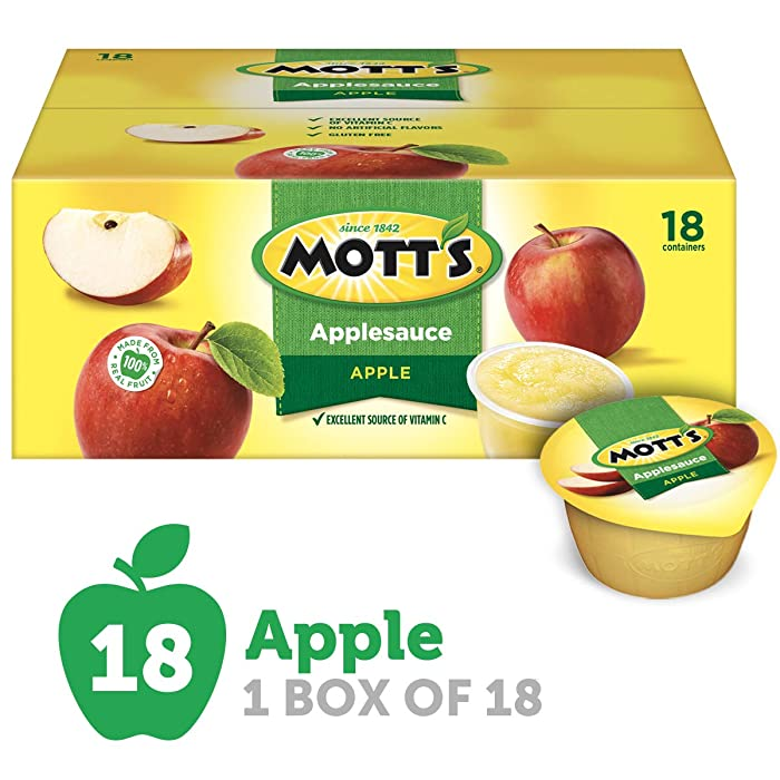 Mott's Applesauce, 4 Ounce Cup, 18 Count