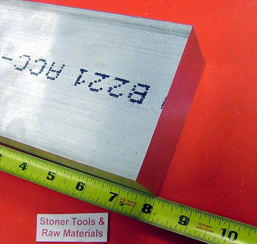 """1//2/"""" x 4/'/' Aluminum 6061 Flat Bar 18/"""" length"""