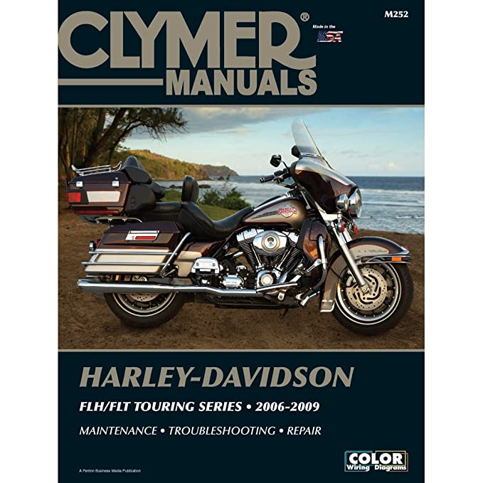 1 - Clymer Harley-Davidson FLH-FLT Touring Series (2006-2009) Harley Davidson Flh Wiring Diagram on