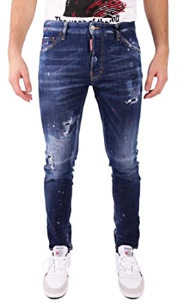 Spray Cool Guy jeans - Blue Dsquared2 eWKr5yz7N