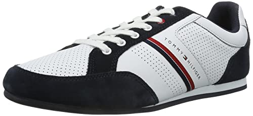Tommy Hilfiger Ross 3A - Zapatillas, White/Midnight 403, 44: Amazon.es: Zapatos y complementos