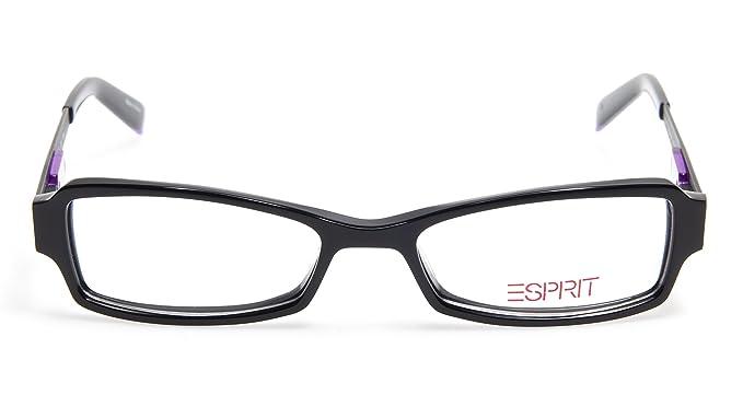 0b638004d40 Amazon.com  NEW ESPRIT ET17360 COLOR-538 BLACK EYEGLASSES GLASSES ...