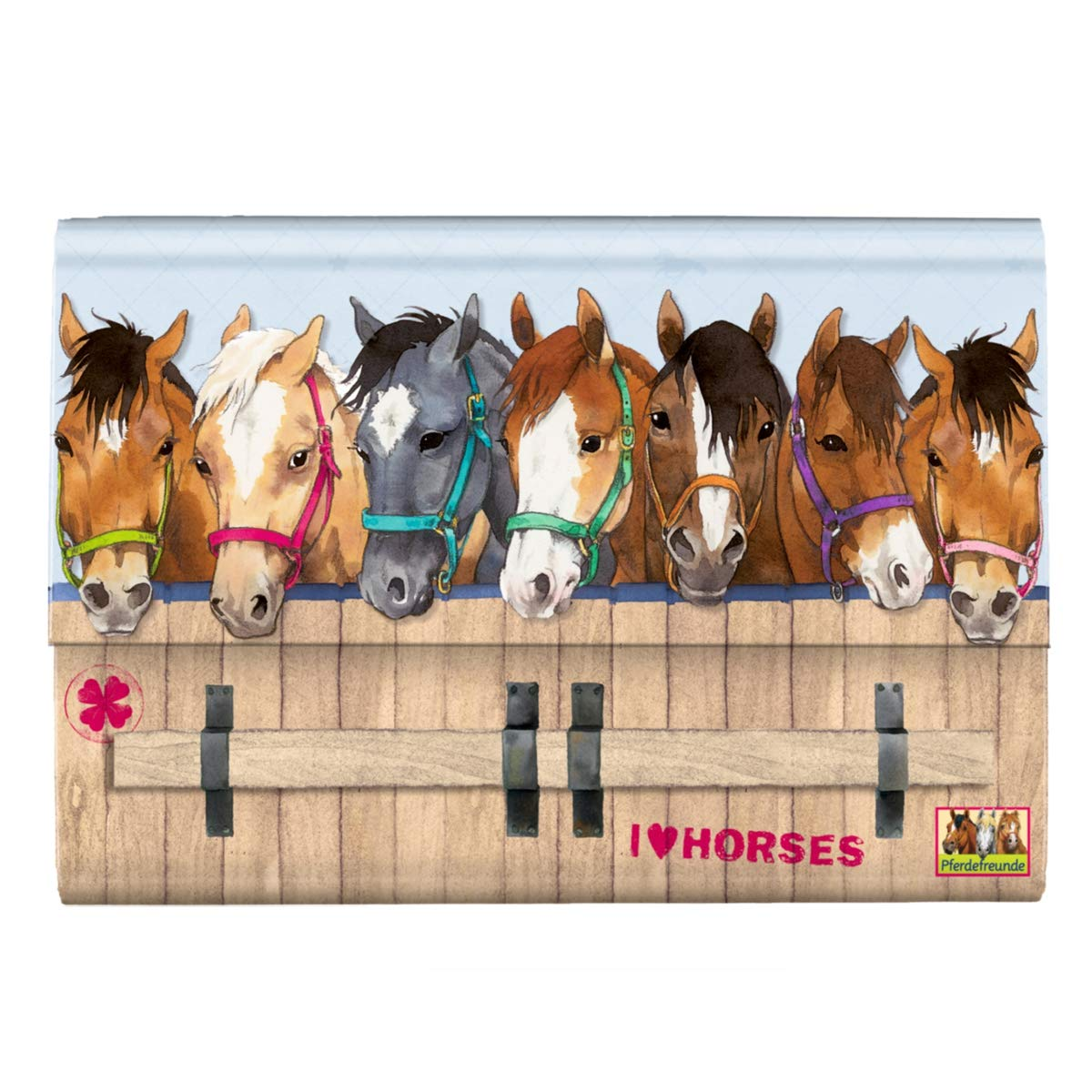 Horse Friends Stationery writing Paper set, Model # 12511 Spiegelburg SPKNG12511