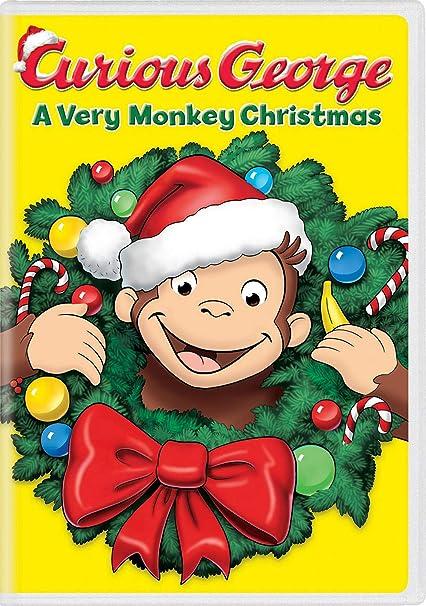 Curious George Christmas.Amazon Com Curious George A Very Monkey Christmas Frank