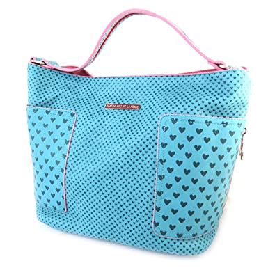 9240f7cae3a Amazon.com: Designer bag 'Agatha Ruiz De La Prada'turquoise - little ...