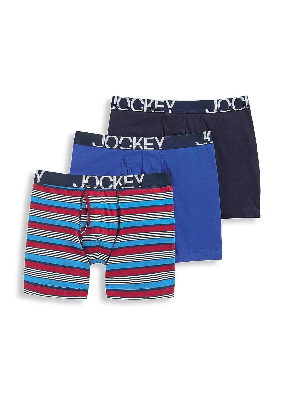 Jockey Mens Underwear ActiveStretch/™ Midway Brief 3 Pack