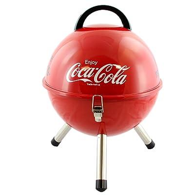 4SGM 17297 Coca-Cola Portable BBQ Grill, Multicolor: Toys & Games
