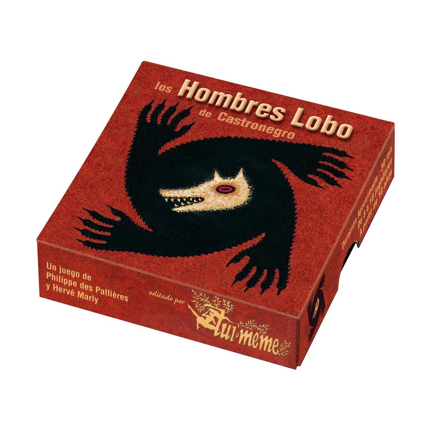 Asmodee Hombres Lobo de Castronegro juego de mesa