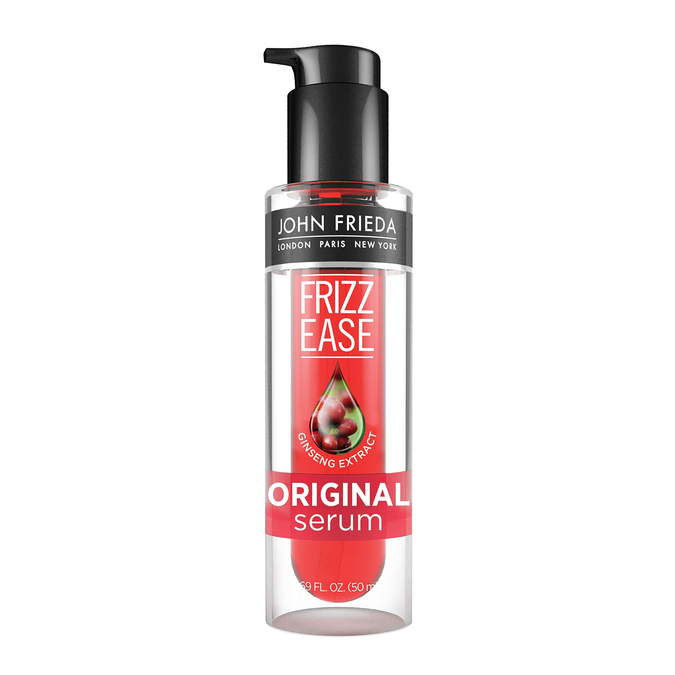 Frizz-Ease Hair Serum Original Formula, Anti-Frizz Heat Protecting, 1.69 oz, Infused with Silk Protein