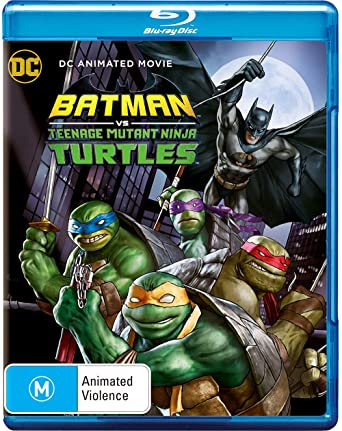 Amazon.com: Batman vs Ninja Turtles Blu-Ray | Region B: Troy ...