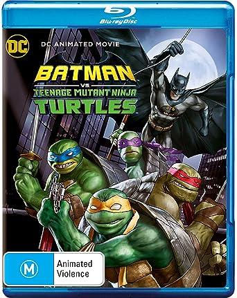Amazon.com: Batman vs Ninja Turtles Blu-Ray | Region B: Troy ...