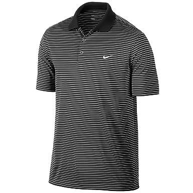 Nike - Polo - para Hombre, Hombre, Color Negro, tamaño Medium ...