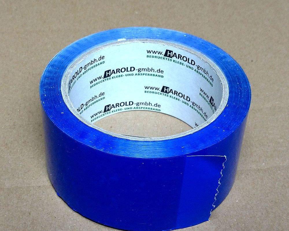 3 Stück VarioColors Klebeband blau dunkel 50mmx66m Packband Paketband Paketklebeband