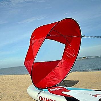 Vela para Kayak, Kayak Vela Paddle 42 Pulgadas Accesorios de Kayak Canoa Compacto y Portátil (Color : Rojo) : Amazon.es: Deportes y aire libre