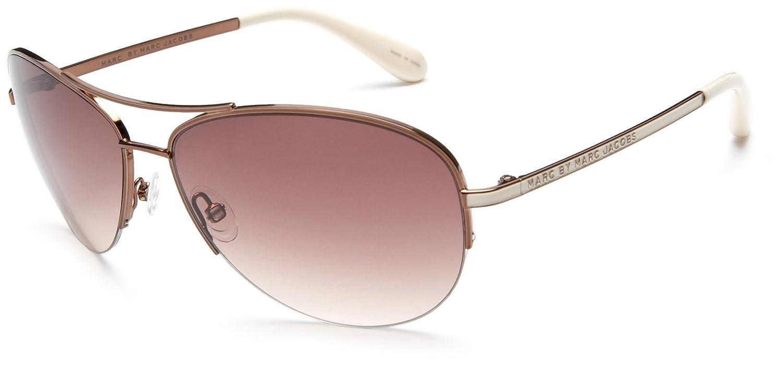 c897a6066db Amazon.com  Marc by Marc Jacobs Women s MMJ 119 Aviator Sunglasses ...