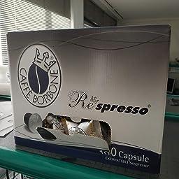 Caffè Borbone, Cápsulas de café (Respresso Mezcla Blue) - 100 ...