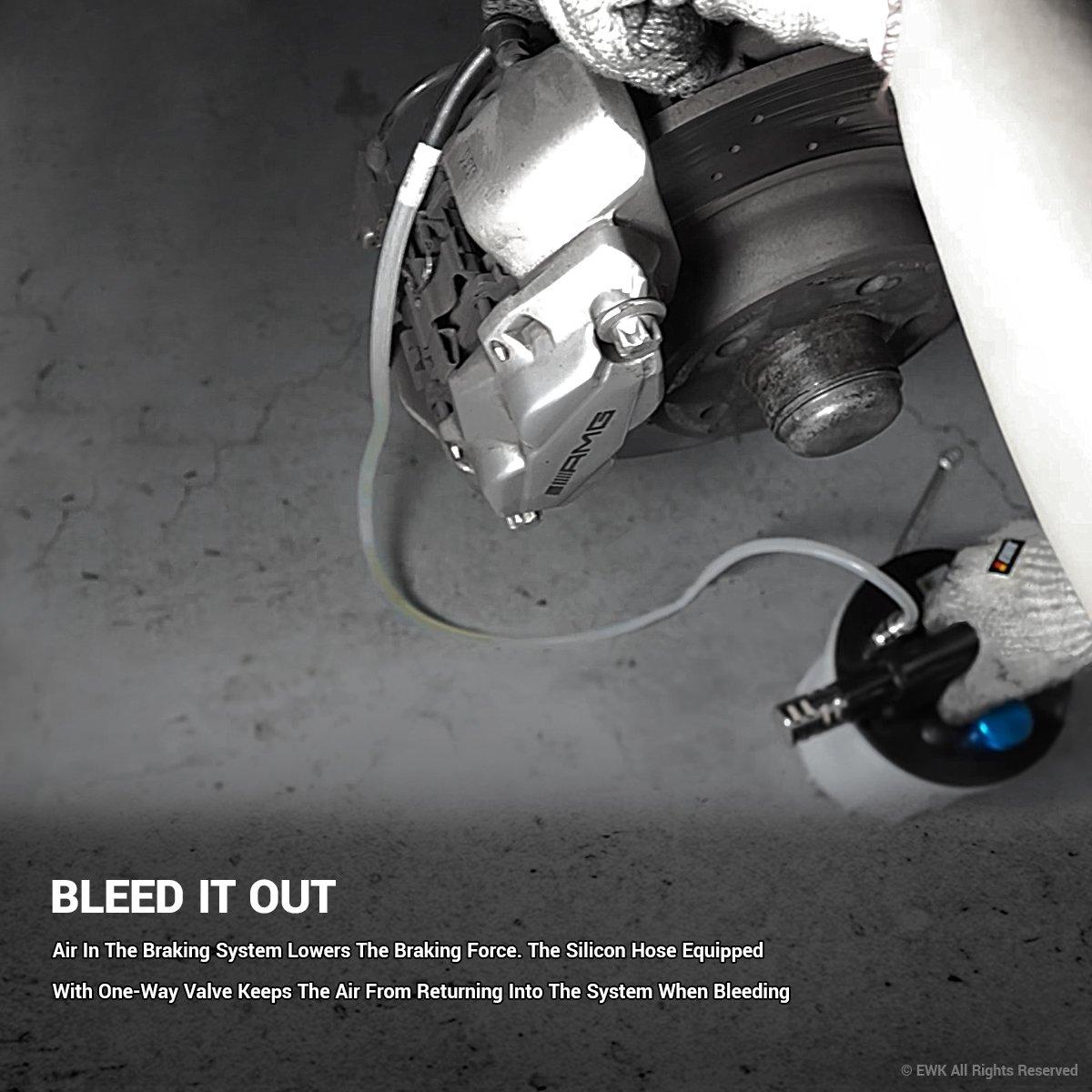 EWK Pneumatic Air Brake Fluid Oil Bleeder Extractor Pump by EWK (Image #3)