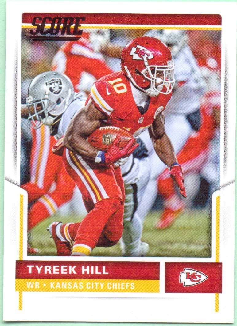 Sports Collectibles Trading Cards 2018 Score #160 Tyreek Hill ...