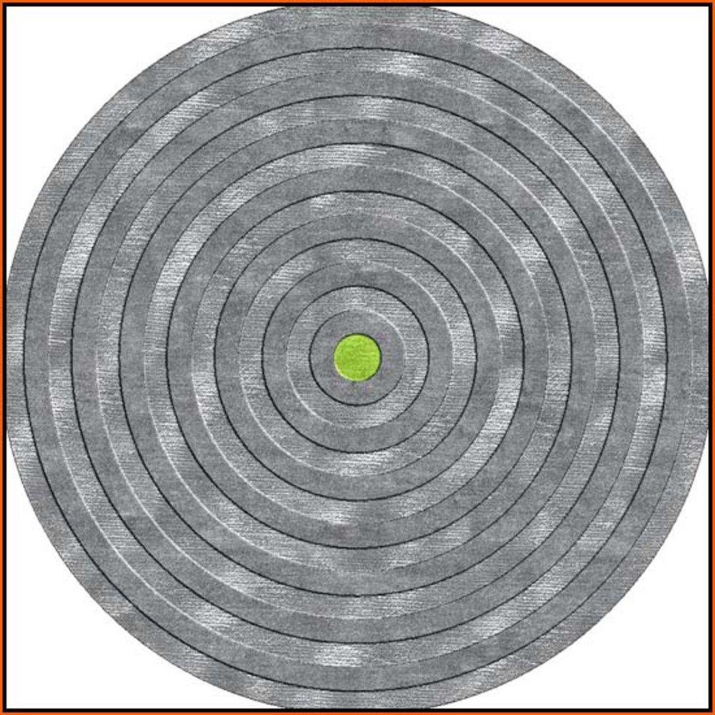 円形カーペットxiandaiヨーロピアンカーペット毛布のリビングルームとベッドルーム、シンプルなラウンドテーブルTeaテーブル diameter250cm(98inch) LANLIANHUA diameter250cm(98inch) F B075GL6426