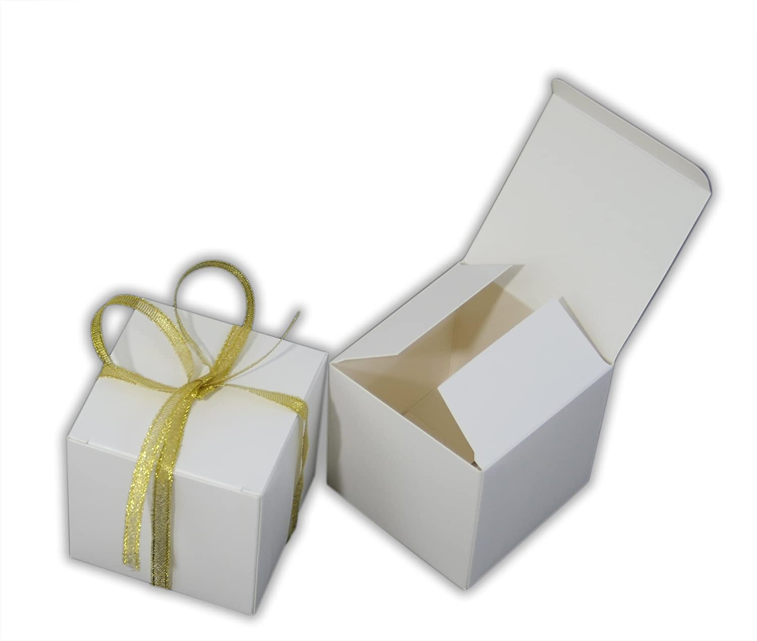 Amazon.com: Small Gift Boxes Party Favor Favor Box WHITE (2\