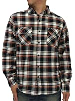 (ルーシャット) ROUSHATTE 大きいサイズ メンズ シャツ 長袖 チェック 16color