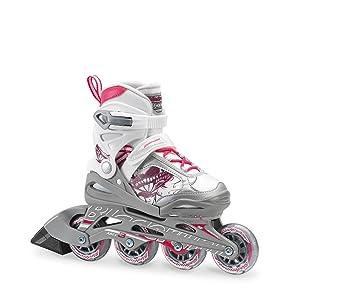 Rollerblade Bladerunner Phoenix Niñas Ajustable Fitness - Patines, Color Blanco y Rosa, Junior, Valor Rendimiento Patines en línea, Blanco y Rosa: ...