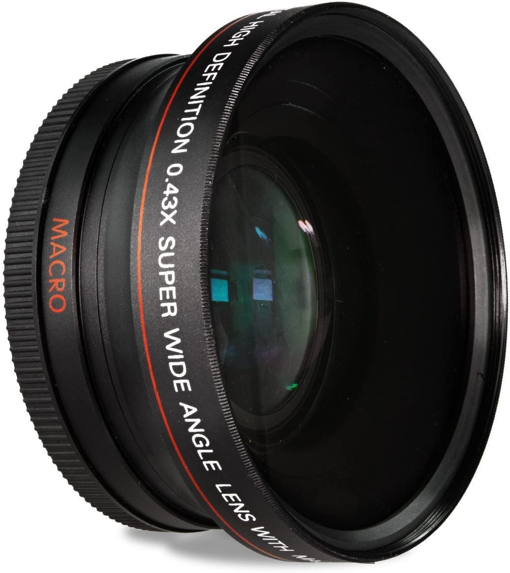 52MM 0.43x Wide Angle Conversion Lens