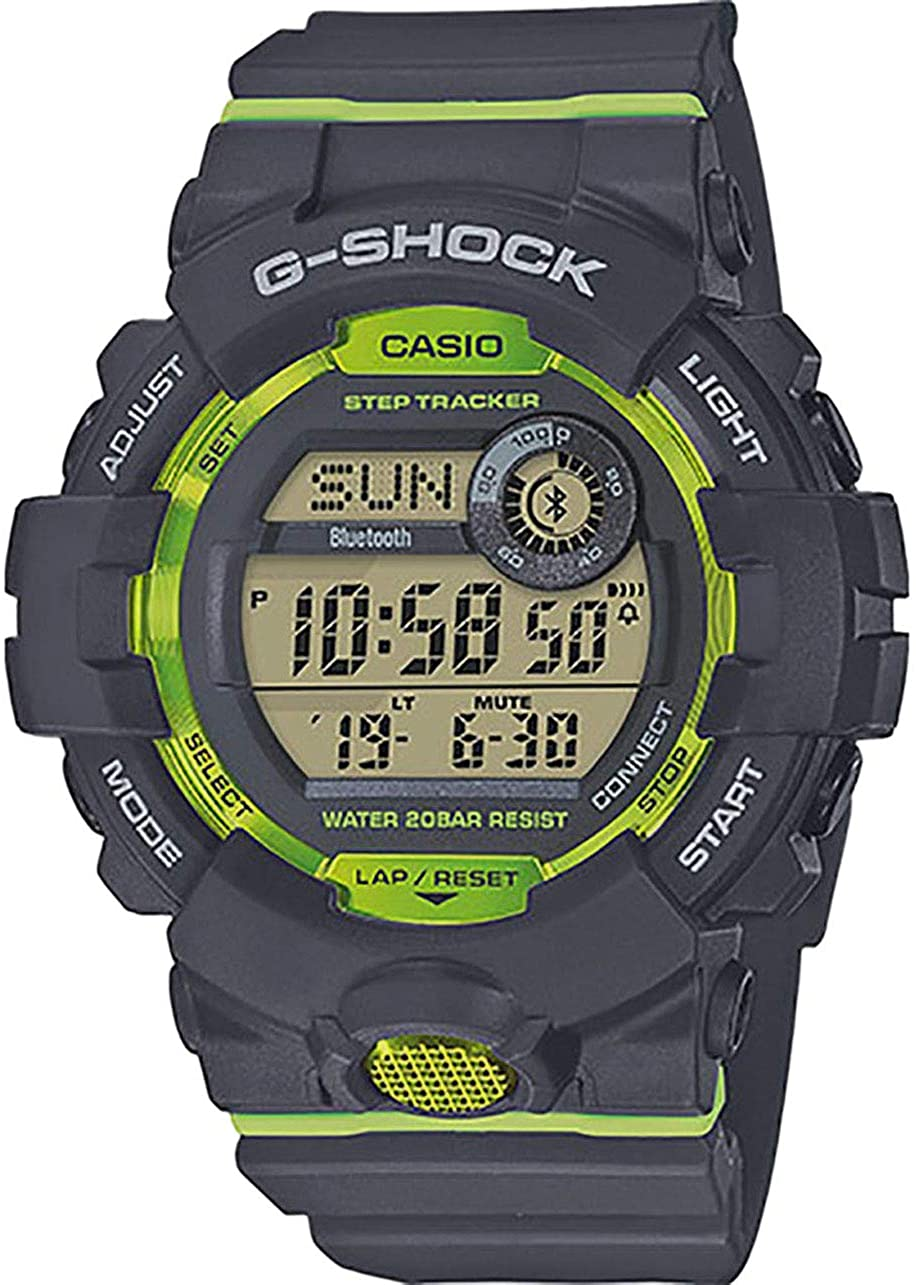 G-Shock Men's GBD-800-1BCR