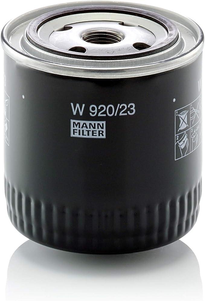 Original Mann Filter Ölfilter W 920 23 Für Nutzfahrzeuge Auto