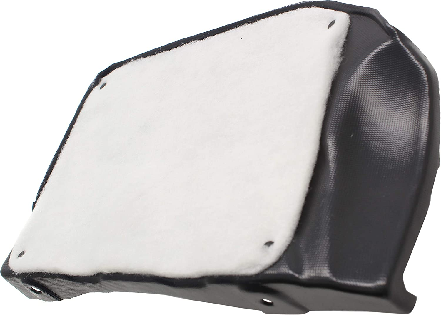 with Insulation Foam Passenger Side Engine Splash Shield Compatible with 2014-2019 Kia Soul Side Cover