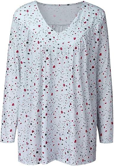 AIni Camisa Elegante para Mujer Tops De OtoñO para Mujer ...